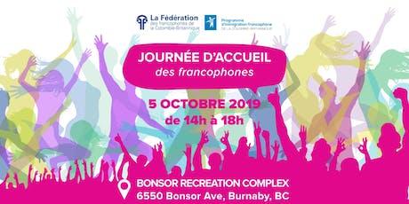 Journée d'accueil des francophones tickets