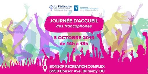 Journée d'accueil des francophones