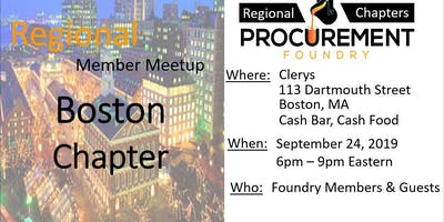 Boston Member Meetup – September 2019