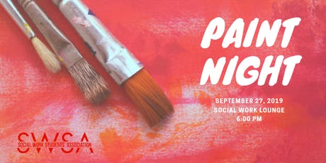 "Paint Night: ""Create Your Space"" tickets"