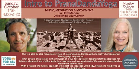 Intro to PranaDandaYoga with Demetri Velisarius 3 workshops in 2 days tickets
