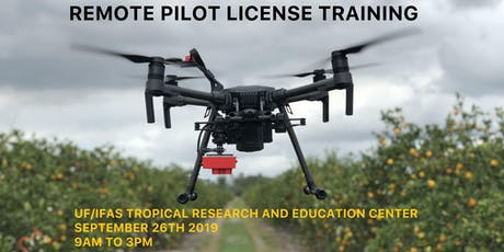 Remote Pilot License Training tickets