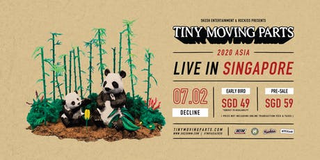 Tiny Moving Parts Live In Singapore 2020 tickets