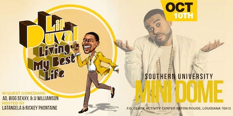 Lil Duval Living my Best Life Tour -Baton Rouge tickets