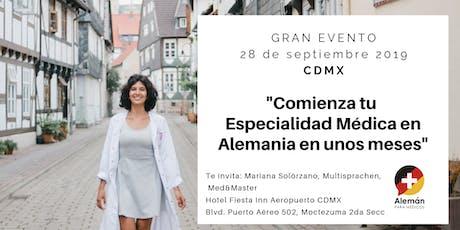 Comienza tu Especialidad Médica en Alemania en unos meses boletos