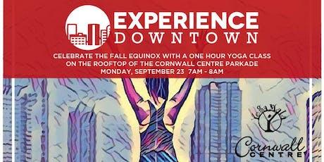 Fall Equinox Rooftop Yoga tickets