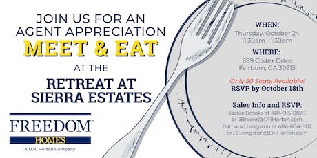 Retreat at Sierra Estates Meet and Eat tickets