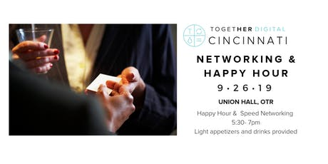 Together Digital Cincinnati Speed Networking & Happy Hour *Members Only* tickets