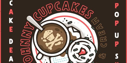 Johnny Cupcakes X Cakabakery Coffee day pop up!