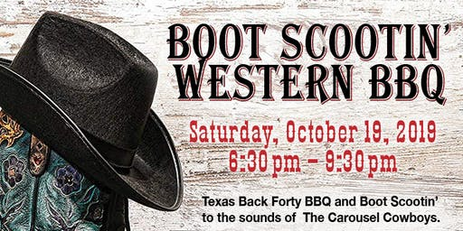 Boot Scootin Western BBQ