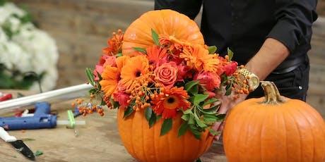 Pumpkin Floral Design Workshop tickets