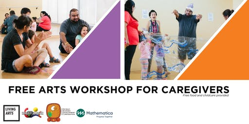 Free Arts Workshops for Caregivers