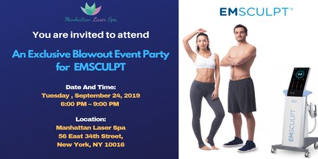 ‼️An Exclusive Blowout Event Party for EmSculpt®! tickets