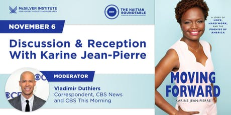 Discussion & Reception With Karine Jean‑Pierre tickets