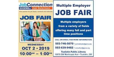 Job Fair - Tualatin - 10/2/19