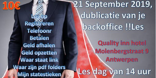 Leren in je Backoffice