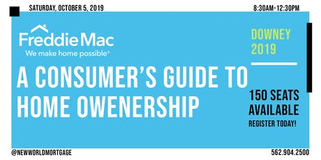 Freddie Mac| A Consumer's Guide to Home Ownership tickets