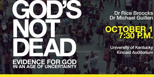 God's Not Dead with Dr. Rice Broocks at University of Kentucky