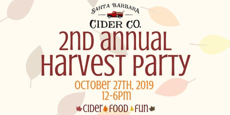SB Cider Co Second Annual Harvest Party! tickets