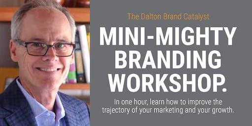 The Mini, Mighty Branding Workshop