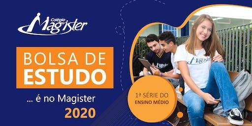 CONCURSO DE BOLSAS PARCIAIS  2020 - ALUNOS NOVOS - 1ª SÉRIE DO ENS. MÉDIO