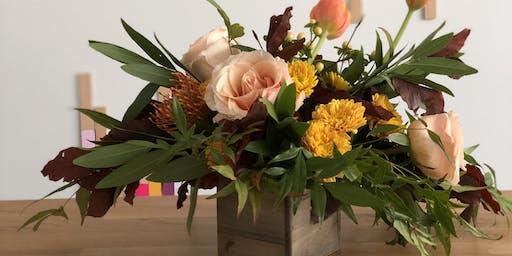 Rustic Petite Fall Floral Arrangement