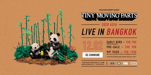 Tiny Moving Parts Live In Thailand 2020
