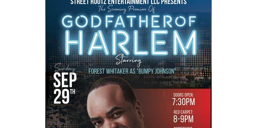 Godfather of Harlem Screening Premiere Hosted by Markuann Smith