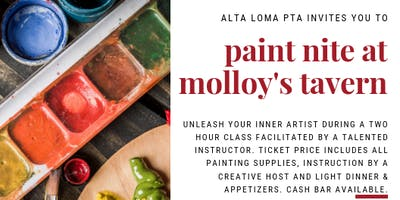 Paint Nite at Molloy's Tavern
