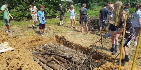 The Soil is Alive!  Hugelkultur Mound Building with Teens tickets