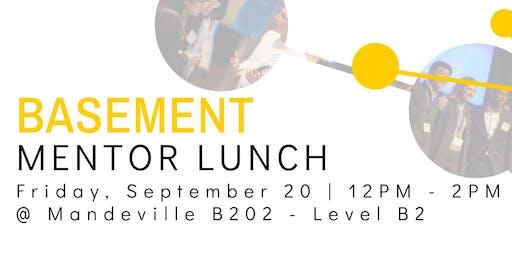 The Basement Mentor Lunch