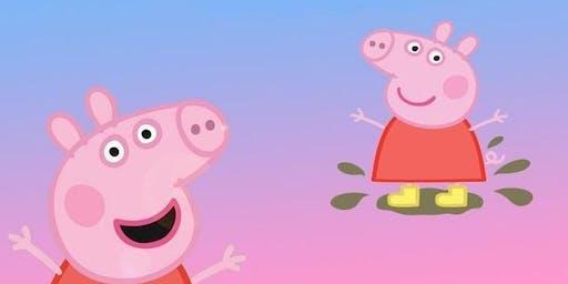 Peppa Pig Visitng