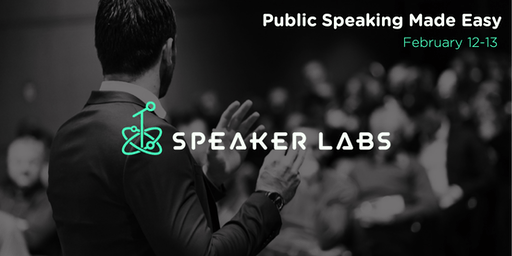 Public Speaking Made Easy - February 2020