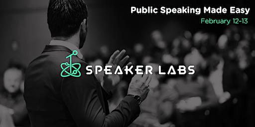 Public Speaking Made Easy - February 2020