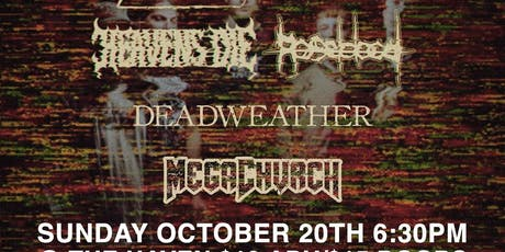 Boundaries,Heavens Die,Roseblood and Special Guests at The Haven tickets