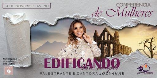 Conferência de mulheres: EDIFICANDO!