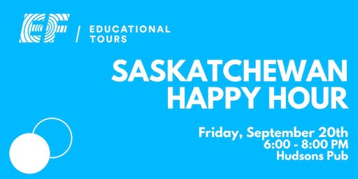 Saskatchewan Happy Hour!