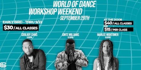"""""""World of Dance Weekend Workshop"""" - Detroit, MI 2019 tickets"""