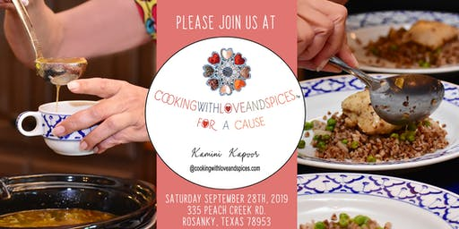 Cooking With Love And Spices For A Cause