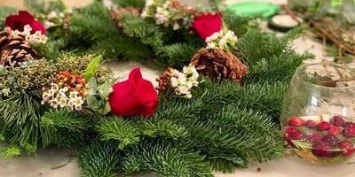 Holiday Wreaths at White Star Market