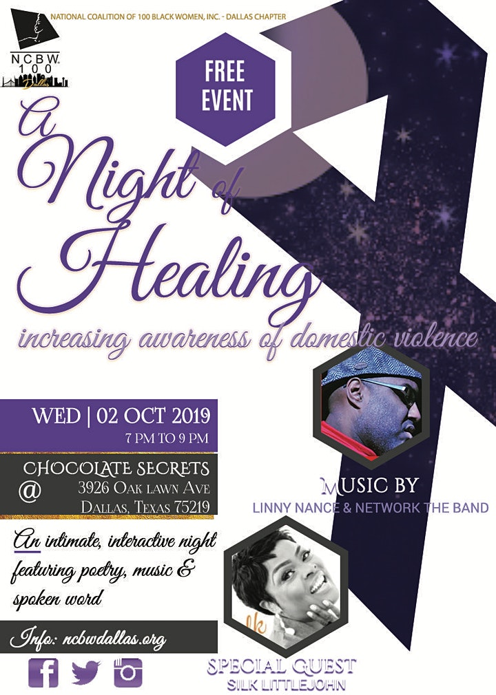 A Night of Healing | Increasing awareness of Domestic Violence image