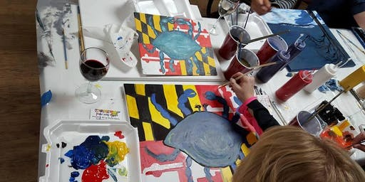 Sip and Paint in the Garden