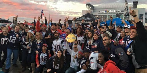 Houston Patriots Fans Tailgate