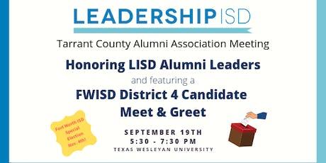 LISD Tarrant Alumni Association Meeting tickets