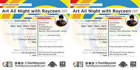 Art All Night with Rayceen 2019 tickets