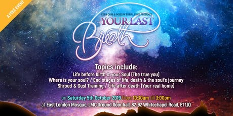 YOUR LAST BREATH (Training Course) at ELM tickets