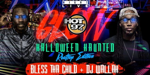 Time Square Glow Halloween Costume Party @ 760 Rooftop