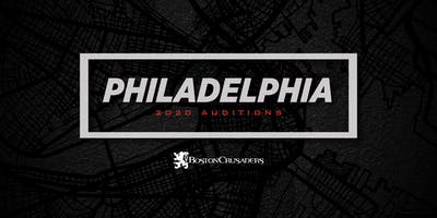 2020 Auditions - Philadelphia, PA (Brass and Percussion)