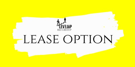 Real Estate Investing Lease Option