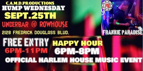 Harlem HOUSE MUSIC EVENT Frankie Paradise tickets